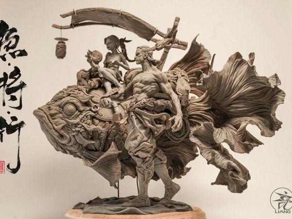 Глиняная вселенная Юаньсинь Ляня | Ярмарка Мастеров - ручная работа, handmade