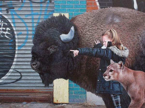 Дети, животные и руины на картинах Кевина Петерсона   Ярмарка Мастеров - ручная работа, handmade