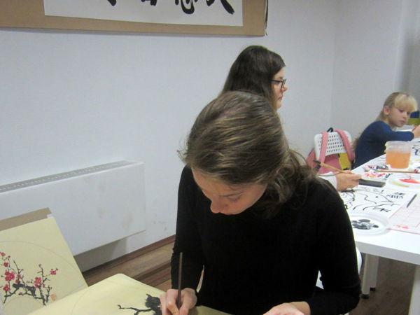 МК по китайской живописи для начинающих   Ярмарка Мастеров - ручная работа, handmade
