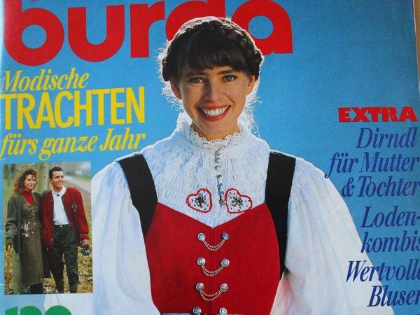 Бурда — спец. выпуск —  Традиционная мода- 1989 | Ярмарка Мастеров - ручная работа, handmade