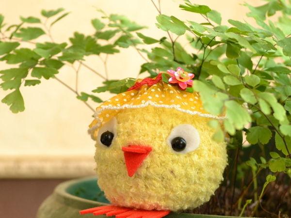 Как связать подарок на Пасху: цыпленок крючком   Ярмарка Мастеров - ручная работа, handmade