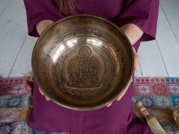 Поющая чаша в доме   Ярмарка Мастеров - ручная работа, handmade