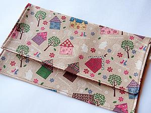 Как сшить конверт для путешествий   Ярмарка Мастеров - ручная работа, handmade