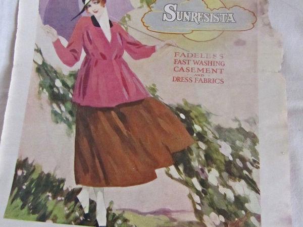 Журнал 1917 года | Ярмарка Мастеров - ручная работа, handmade