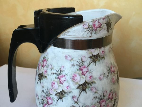Making Romantic Pitcher from Old Teapot   Livemaster - handmade