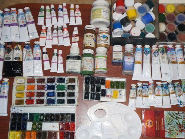 Мои акварельные материалы | Ярмарка Мастеров - ручная работа, handmade