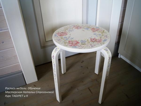 Роспись мебели.  Онлайн обучение | Ярмарка Мастеров - ручная работа, handmade