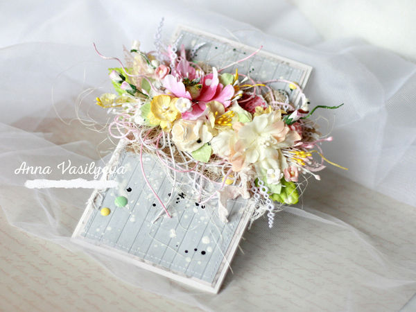 DIY on Creating a Gentle Spring Greeting Card | Livemaster - handmade