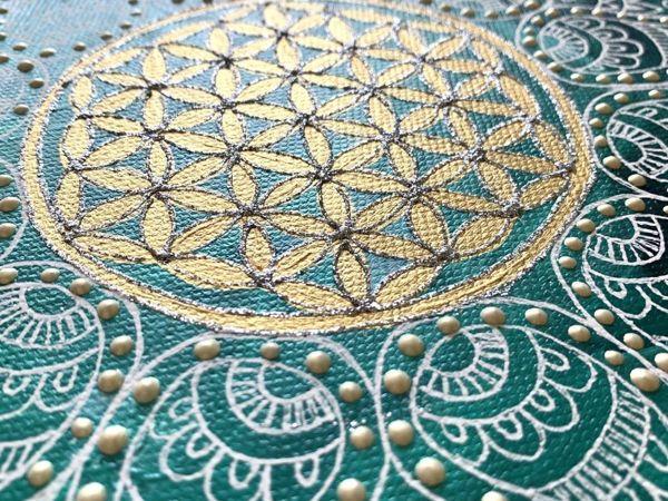 Символика  «Цветка Жизни»  в различных мировых культурах   Ярмарка Мастеров - ручная работа, handmade