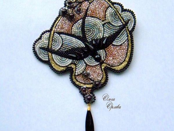 Вышиваем бисером «Облачко» | Ярмарка Мастеров - ручная работа, handmade