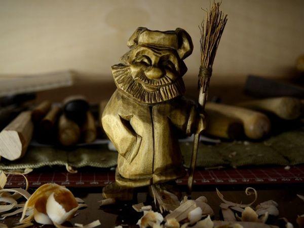 Вырезаем фигурку дворника   Ярмарка Мастеров - ручная работа, handmade