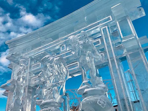 В Перми наградили победителей конкурса ледовой скульптуры «Зимний вернисаж»
