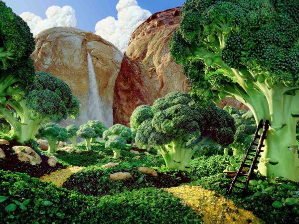 Удивительные пейзажи, которые можно съесть | Ярмарка Мастеров - ручная работа, handmade