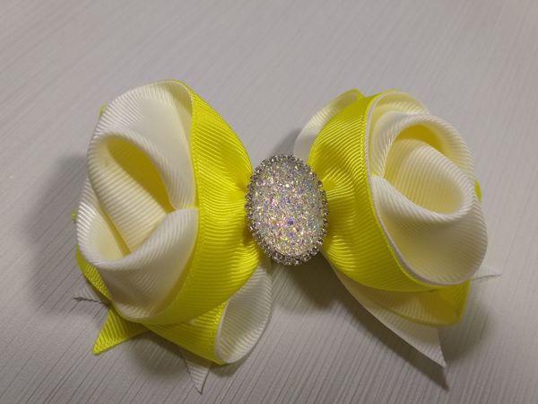 Video Tutorial: Beautiful Ribbon Bow | Livemaster - handmade