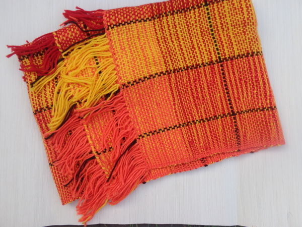 Закрыт. Аукцион  «Старт на домотканые шарфы»   Ярмарка Мастеров - ручная работа, handmade