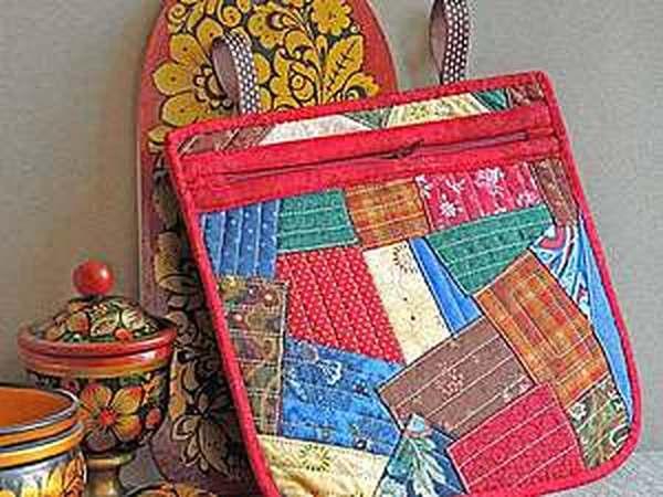 Шьем лакомник в русском стиле из лоскутков   Ярмарка Мастеров - ручная работа, handmade