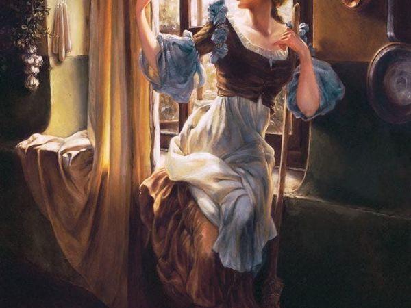 Художница нарисовала диснеевских принцесс в духе эпохи Возрождения. Что из это получилось? Смотрите и удивляйтесь   Ярмарка Мастеров - ручная работа, handmade