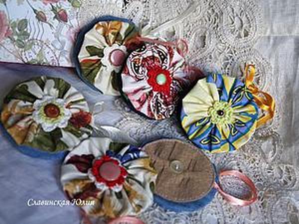 Шьем походную игольницу   Ярмарка Мастеров - ручная работа, handmade