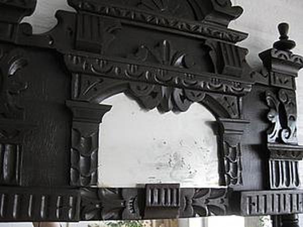 Мастер-класс: реставрация старого зеркала | Ярмарка Мастеров - ручная работа, handmade