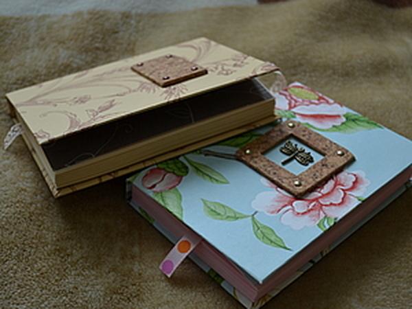 Мастер-класс: блокнотик в бумажной обложке с нуля   Ярмарка Мастеров - ручная работа, handmade