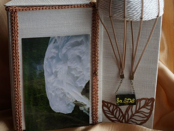 Делаем двустороннюю фоторамку с потайной шкатулкой в подарок десантнику   Ярмарка Мастеров - ручная работа, handmade