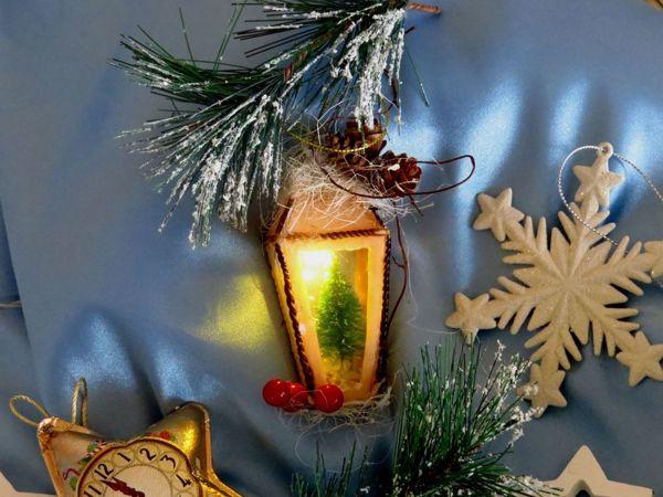 Мастер-класс: Мастерим новогодний фонарик из полимерной глины | Ярмарка Мастеров - ручная работа, handmade