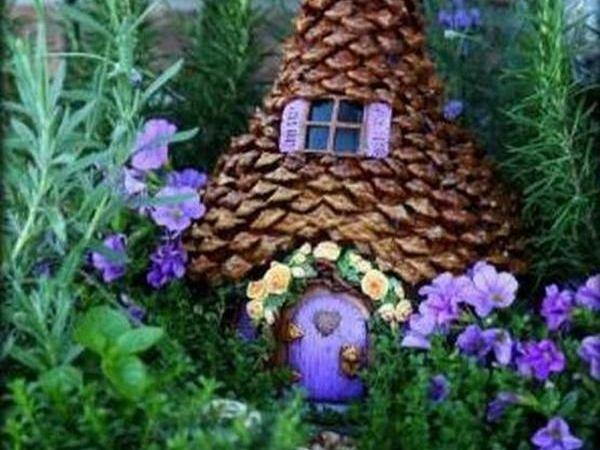 Fairy Houses of Pumpkins   Livemaster - handmade