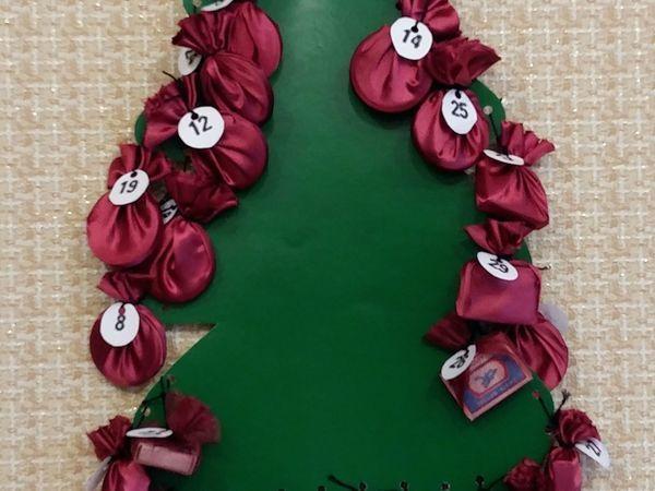 Делаем адвент-календарь для детей своими руками | Ярмарка Мастеров - ручная работа, handmade
