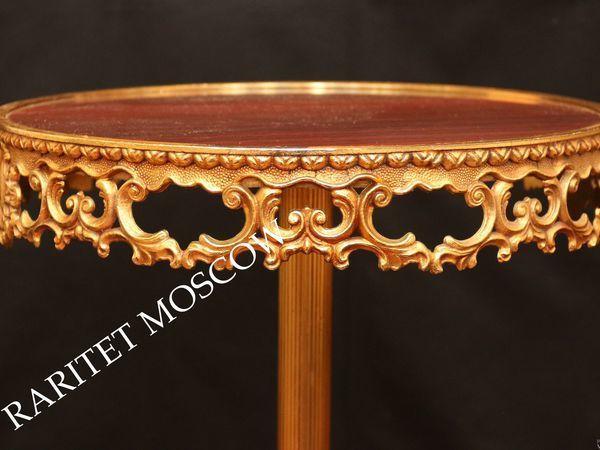 РЕДКОСТЬ Стол этажерка подставка бронза латунь 1 | Ярмарка Мастеров - ручная работа, handmade