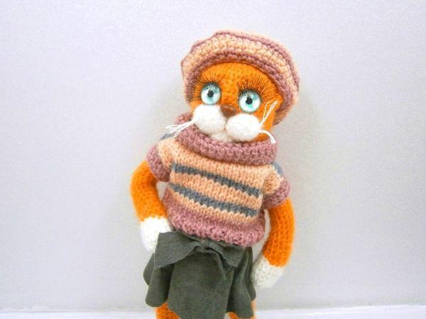Кошка Джинджер | Ярмарка Мастеров - ручная работа, handmade