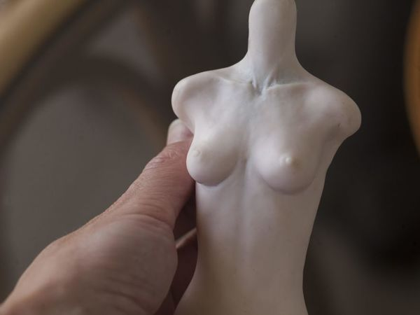 Лепим идеальную грудь для мастер-модели | Ярмарка Мастеров - ручная работа, handmade