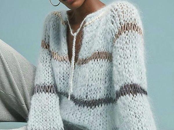 Аукцион на свитер из кид-мохера! Старт 3100 р.! | Ярмарка Мастеров - ручная работа, handmade