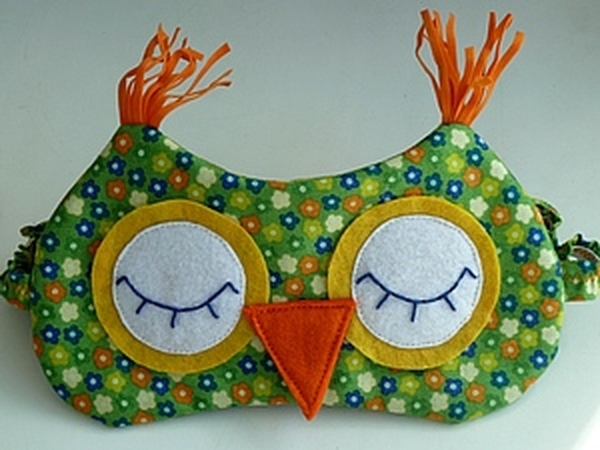 Шьем сами маску для сна | Ярмарка Мастеров - ручная работа, handmade
