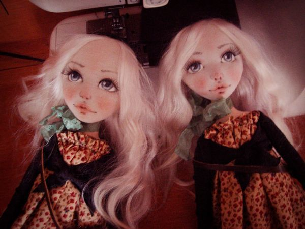 Простой способ сделать выразительное кукольное личико | Ярмарка Мастеров - ручная работа, handmade