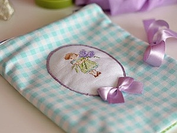 Как сшить сумочку-косметичку для путешествий (для белья)   Ярмарка Мастеров - ручная работа, handmade