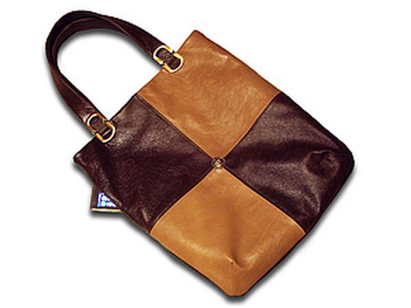 Шьем сумку из кожи  мастер-класс для начинающих   Ярмарка Мастеров - ручная  работа 739b7f34310