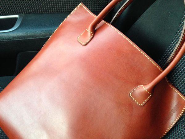a3e015102729 Шьем женскую кожаную сумку | Ярмарка Мастеров - ручная работа, handmade