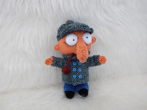 Мягкая игрушка Шеф из мультфильма Братья Колобки | Ярмарка Мастеров - ручная работа, handmade