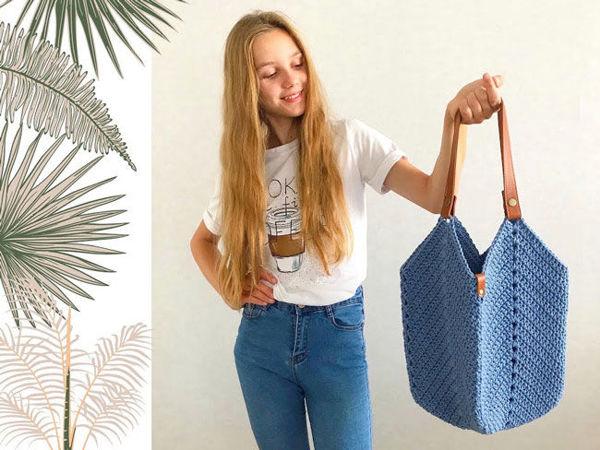 Мастерим сумку «Магнолия» | Ярмарка Мастеров - ручная работа, handmade