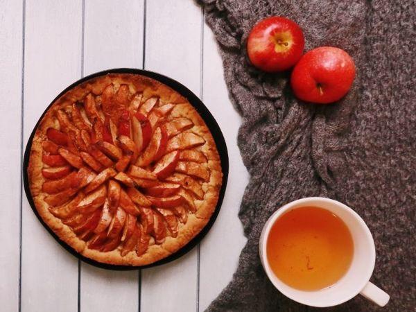 Вкуснейший и простой яблочный пирог | Ярмарка Мастеров - ручная работа, handmade
