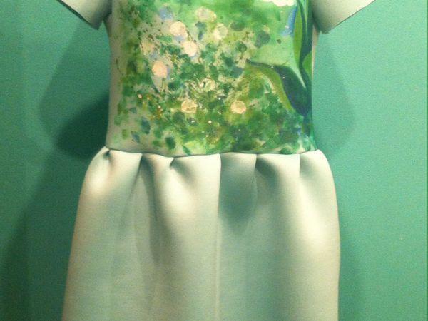 Шьем платье с принтом «Ландыши» | Ярмарка Мастеров - ручная работа, handmade