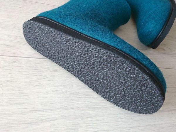 Подошва для валяной обуви | Ярмарка Мастеров - ручная работа, handmade