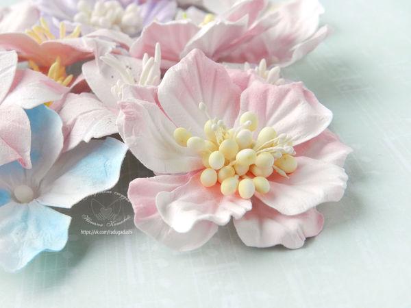 Мастерим цветы для скрапбукинга с помощью самодельных вайнеров   Ярмарка Мастеров - ручная работа, handmade