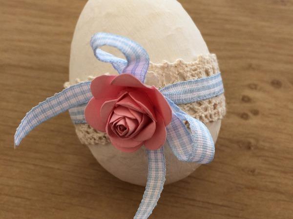 Как быстро и красиво задекорировать пасхальное яйцо | Ярмарка Мастеров - ручная работа, handmade