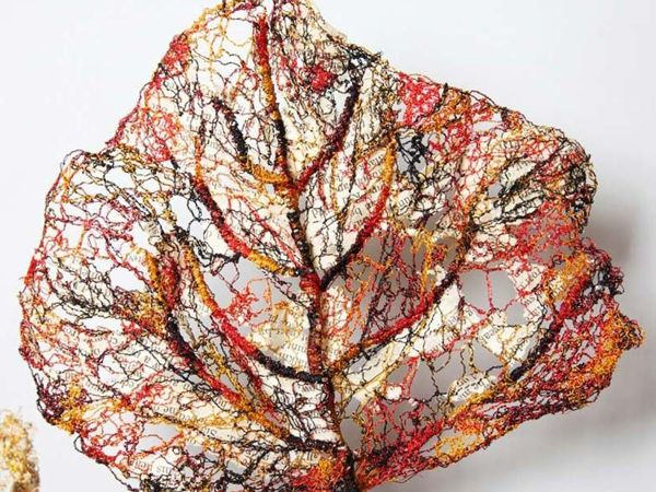 Waste-free Production: Paintings from Materials at Hand by Lisa Kokin | Livemaster - handmade
