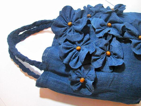 Шьем сумку из старых джинсов: видео мастер-класс | Ярмарка Мастеров - ручная работа, handmade