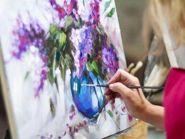 Как начать писать картины маслом   Ярмарка Мастеров - ручная работа, handmade