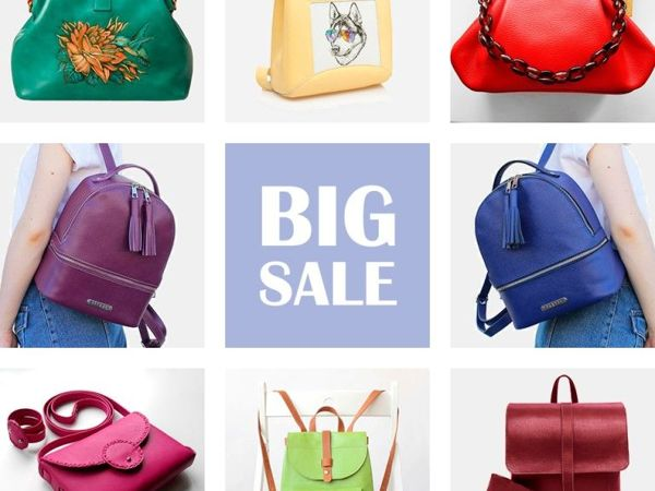 Большая распродажа сумок | Ярмарка Мастеров - ручная работа, handmade