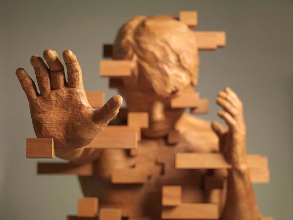 Striking Wooden Sculptures By Hsu Tung Han | Livemaster - handmade