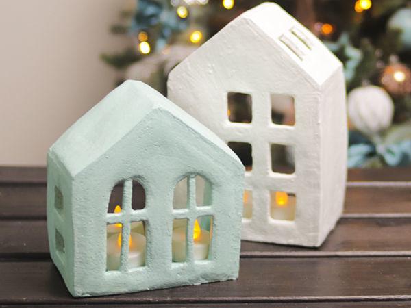 Создаем декоративные домики | Ярмарка Мастеров - ручная работа, handmade
